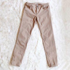 Burberry Brit Tan Slim Jean size 32
